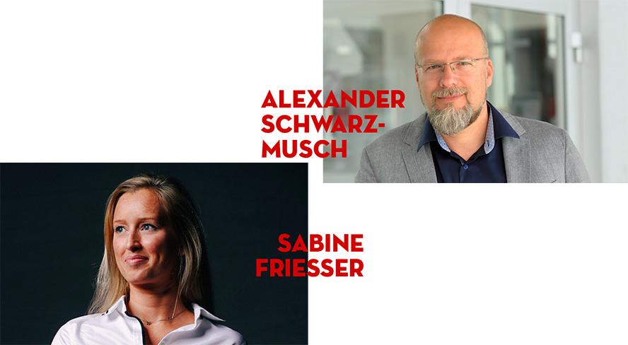 Alexander Schwarz-Musch, Sabine Friesser