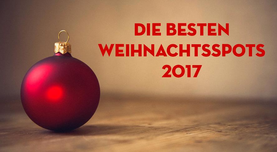 Weihnachtsspots 2017