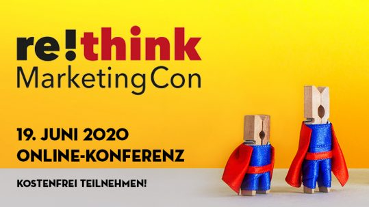 re!think MarketingCon; 19. Juni 2020